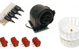 Cooker Hood Motors, Fans, PCB's & Switches