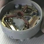 Inside a Washing machine pressure switch
