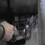 Saftey shorting out a tumble dryers motor capacitor