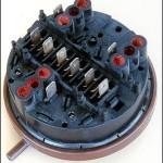Washing machine pressure switch multi level
