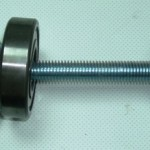Bolt should be 25cm by min 12mm