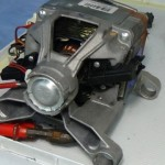 fitting washing machine motor carbon brushes
