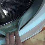 mould On Washing Machine Door Seal