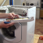 removing pcb on mouldy Washing Machine Door Seal