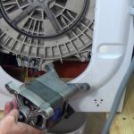 washing machine motor carbon brushes C.E.SET
