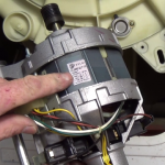 How to replace Selni motor id label on Blomberg, Brandt, Fagor, De dietrich, Thomson etc