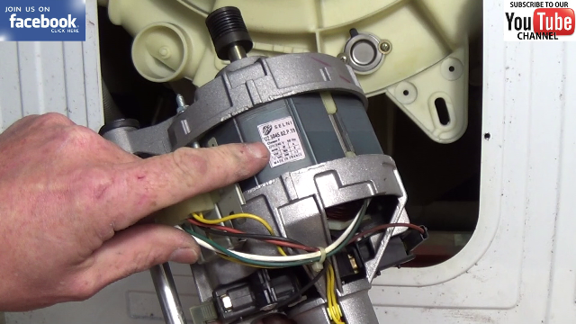 Blomberg washing machine is not spinning how to replace for Washing machine motor repair