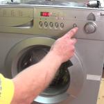 Testing Indesit, Haier, Teka, Samsung washing machine after fitting brushes