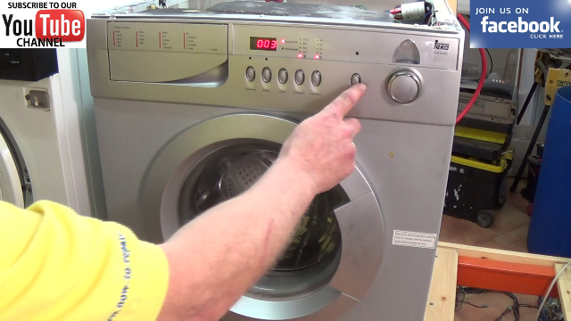 washing machine clothes still after spin