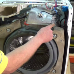 the heater needs to be removed on your on your Aeg, Electrolux, John Lewis, Zanussi washing machine.
