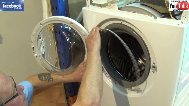How To Replace A Zanussi Washing Machine Door Seal How