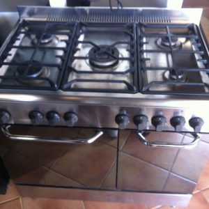 Baumatic cooker 5 burner 2 oven faro loule albufeira vilamoura portimao olhao tavira